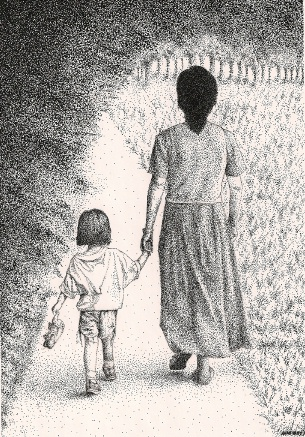 Alexi and Abuela