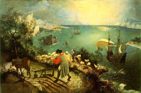 Brueghel Fall of Icarus