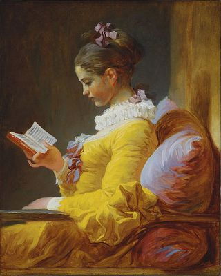Fragonard, La Liseuse (The Reader)