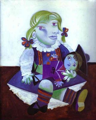 Picasso_Maya and Doll