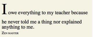 Zen Teacher