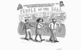 Fall Cartoon